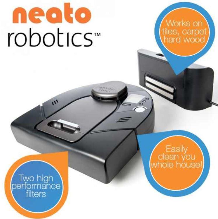 SCHNELL! Neato Robotics XV Signature 945 0062 – Robo Staubsauger für 269,99€