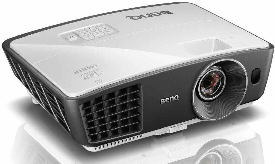 BenQ W750   3D Beamer mit 720p Auflösung als WHD für 371,59€
