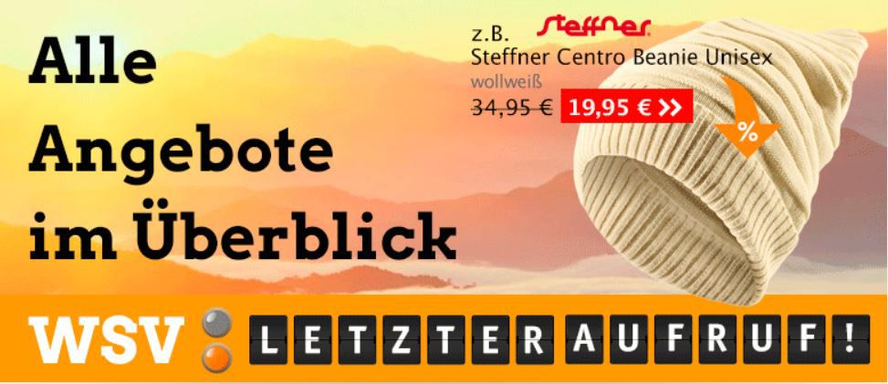 mein deal247 The North Face Sale bei Globetrotter   z. B. Steffner Centro für 19,95€   Update!