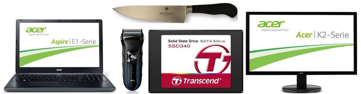 Transcend SSD 128GB bei den Amazon Blitzangeboten