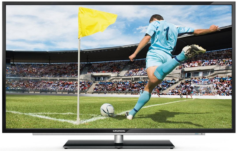 Grundig 55 VLE 922 BL   55 Zoll 3D Smart TV mit triple Tuner und App ab 506,46€   Update!