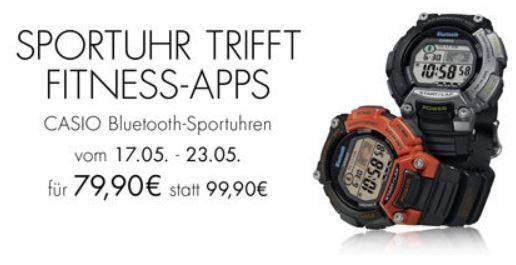 Casio STB 1000 1EF   Unisex XL Uhr mit Bluetooth und Fitness Apps für 79,90€   Update