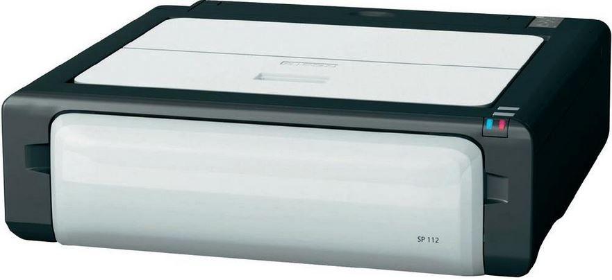 mein deal301 Ricoh SP112   A4 Laserdrucker mit 16 S./min Druck Geschwindigkeit ab 28€