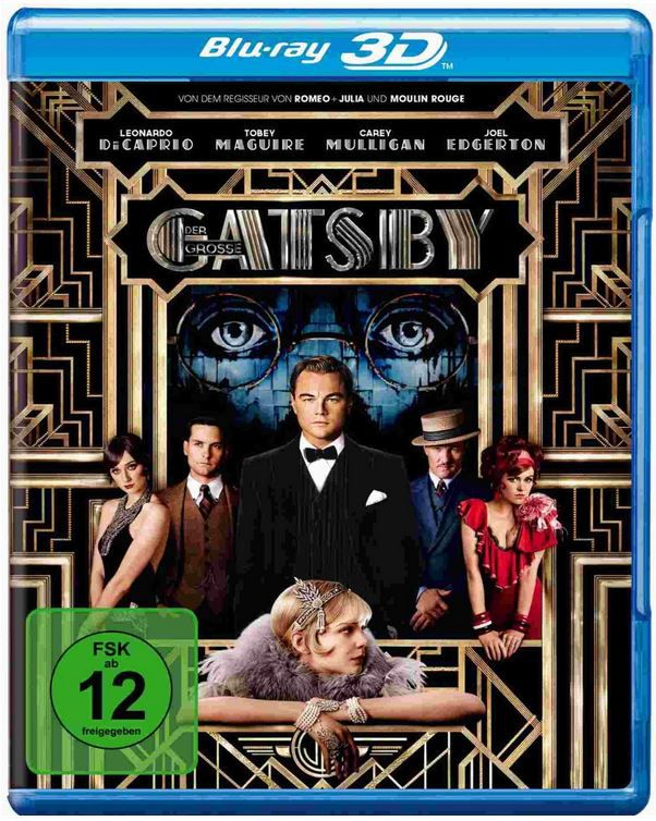 Der große Gatsby 3D für 14,97€ bei den Amazon DVD und Blu ray Angeboten der Woche