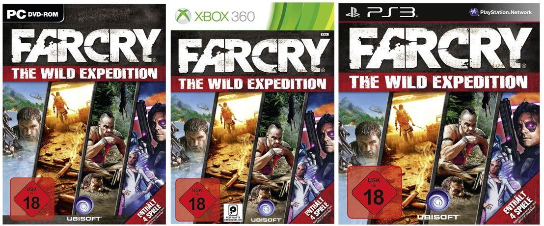 Far Cry   The Wild Expedition für PC und Konsolen ab 28,97€ inkl. USK Versand