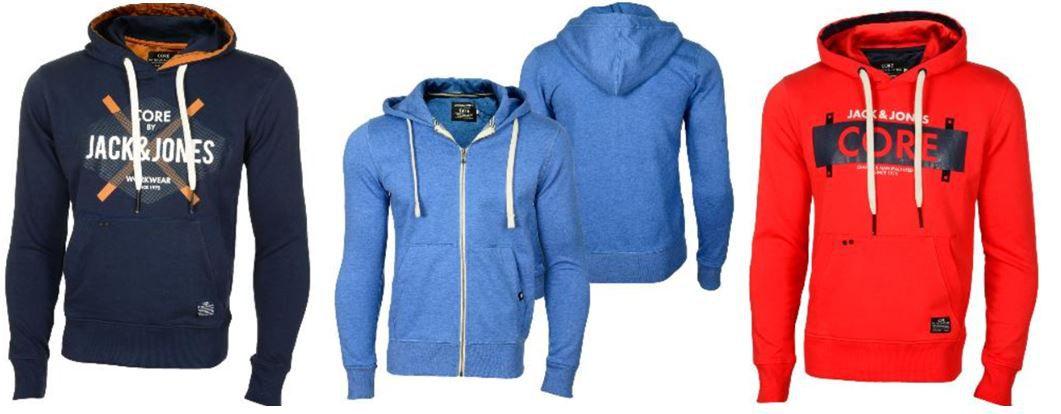 JACK&JONES   8 verschiedene Hoodies und Sweat Jacken für je 19,90€