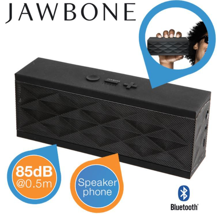 Jawbone Jambox Black Diamond (refurb.) für 75,90€