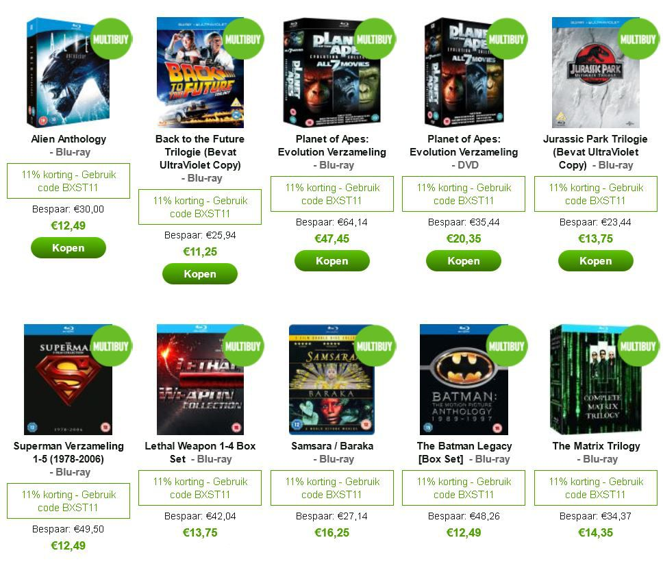 mein deal326 Zurück in die Zukunft – Trilogie [Blu ray] für 9,56€ inkl. Versand und andere Klassiker günstig bei Zavvi