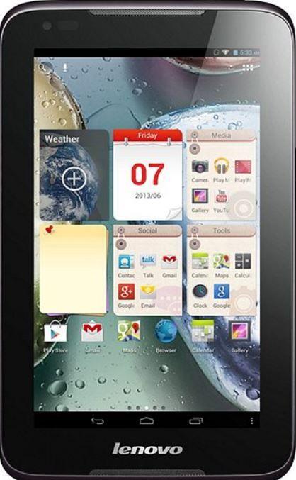 Lenovo IdeaTablet 1000 F   7 Zoll Android Tablet für 69,99€