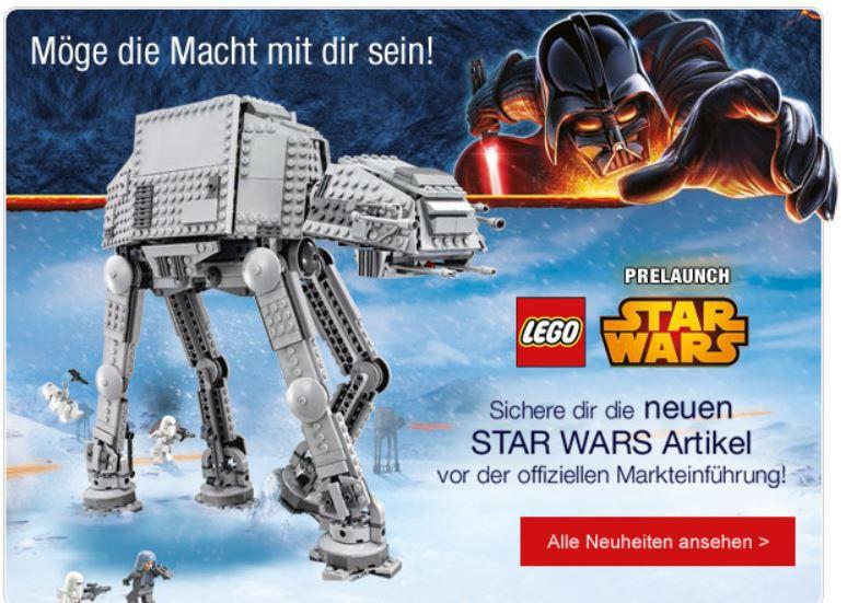 mein deal359 Galeria Kaufhof grüne Nächte Late Night Shopping mit Lego Star Wars und WM Artikeln