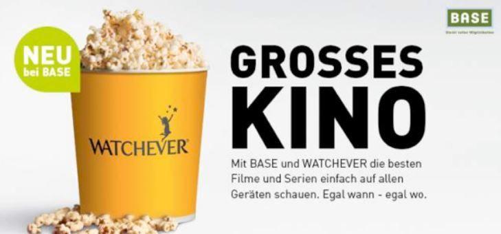 watch Kostenlos! 500MB Base Internet Flat oder + Watchever für 3,99€/montl.
