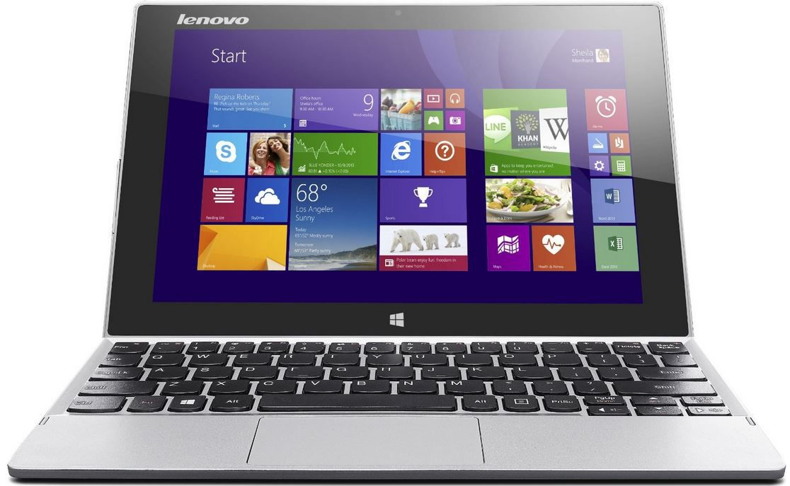 Lenovo MIIX 2 10   Convertible Touch Tablet mit Intel Atom Z3745 und 128GB eMMC ab 288,45€