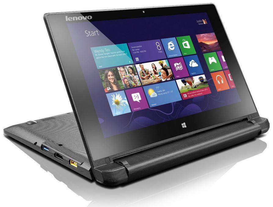 Lenovo Flex10   10 Zoll Convertible Touch Notebook mit 2GB RAM, 500GB HDD und Win 8 für 299€