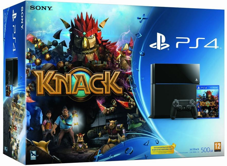 SONY PlayStation 4 & Knack als WHD Bundle ab 356€