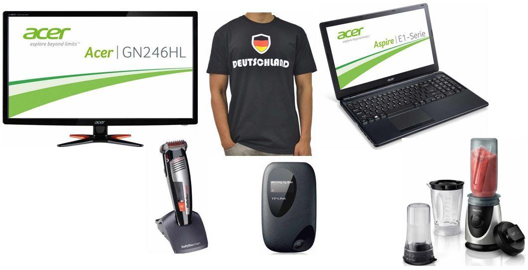 Amazon165 GB Sports Herren T Shirt FIFA World Cup 2014 Deutschland und mehr bei den Amazon Blitzangeboten ab 10Uhr