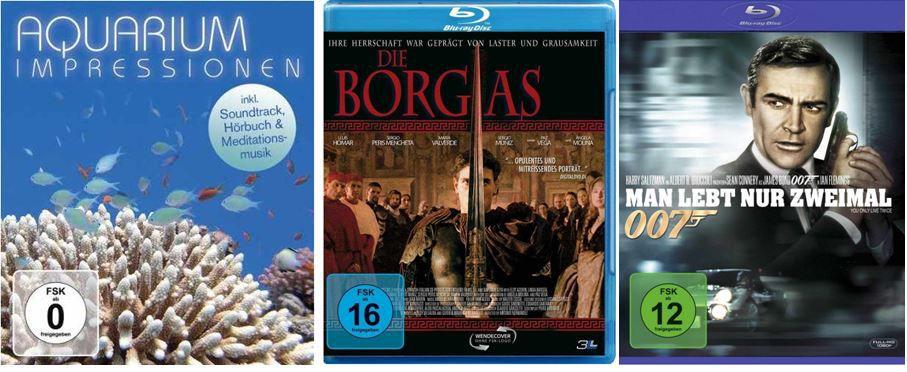 2 TV Serien für 20€ und mehr Amazon DVD und Blu ray Angebote