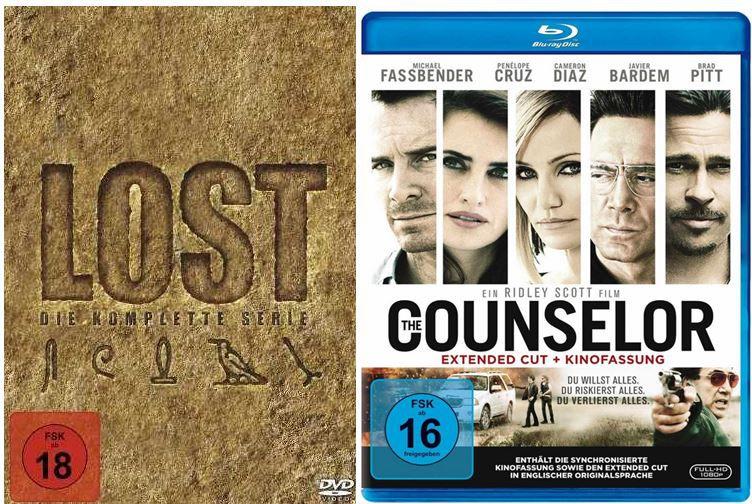 Lost   Die komplette Serie [37 DVDs] für 49,97€ und weitere 22 Amazon Blitzangebote ab 18Uhr