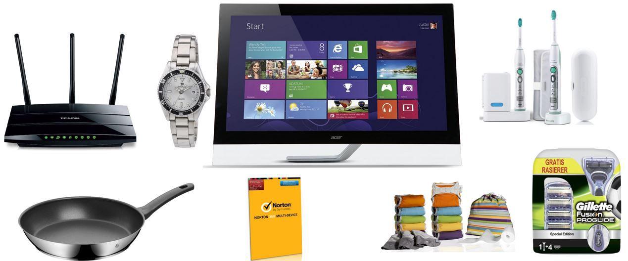 Amazon25 Acer T272HULbmidpcz    27 Zoll Touchscreen Monitor bei den Amazon Blitzangeboten