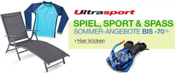 Ultrasport Produktwelt mit Rabatten bis zu 70%   Update