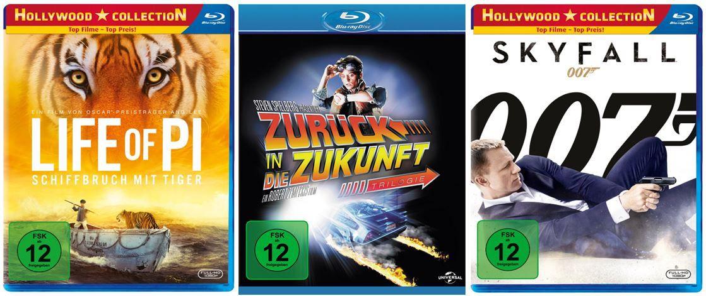 3 Blu rays für 20€ @Amazon