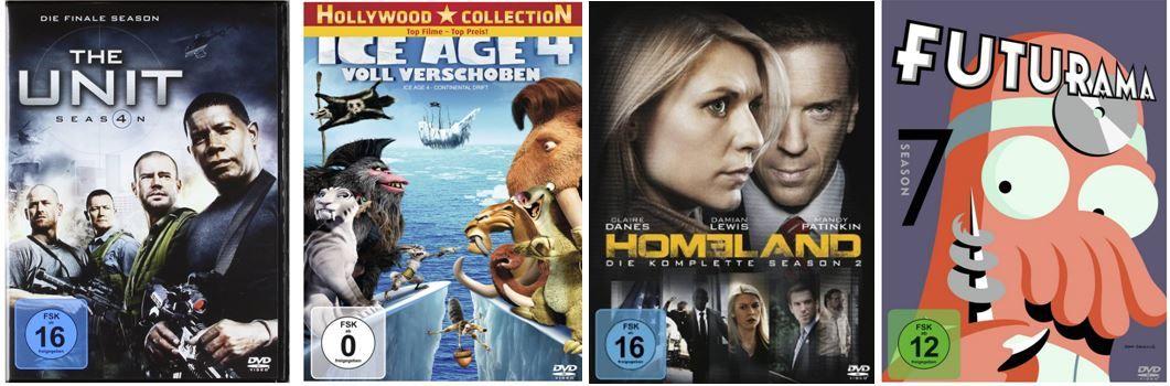 Amazon60 Amazon: 4 Filme bestellen und nur 3 bezahlen