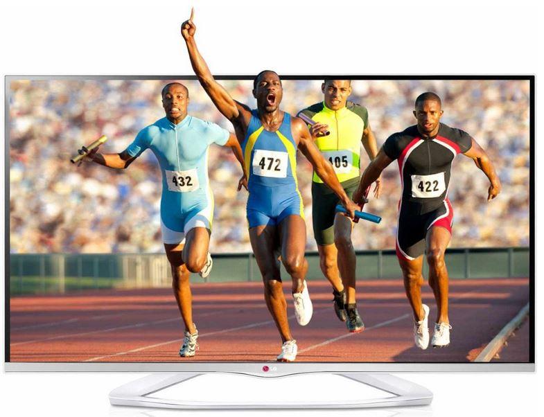 LG 50LA6678   50 Zoll Cinema 3D Smart TV mit triple Tuner für 699€