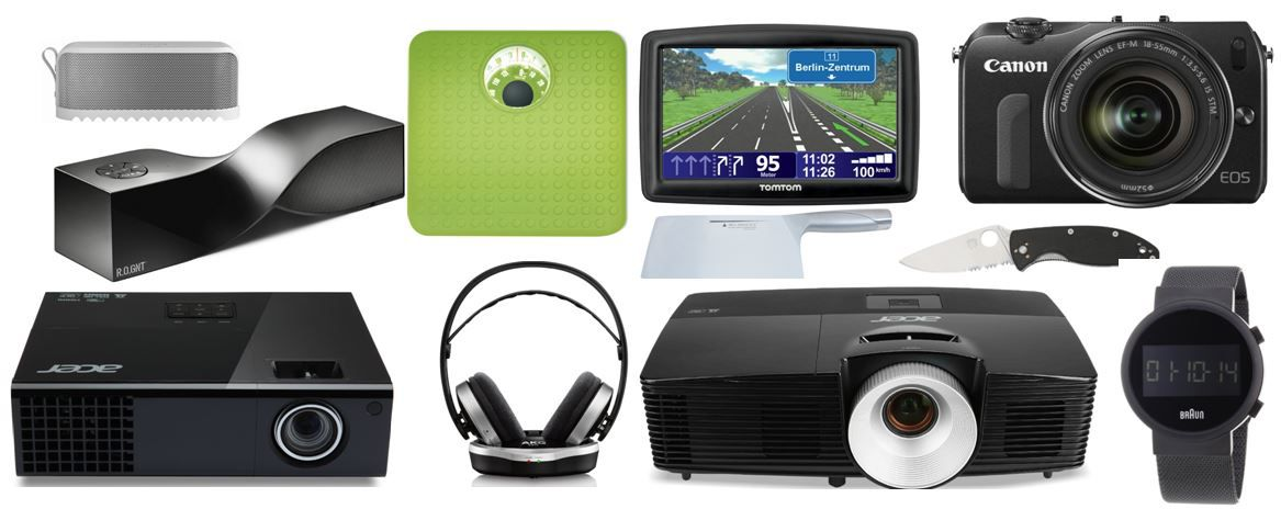 Amazon82 Acer X113 DLP Projektor   3D, SVGA für 199,95€   und reichlich mehr Amazon Blitzangebote