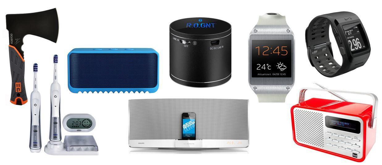 Samsung Galaxy Gear V700 Smartwatch für 109,99€   und reichlich mehr Amazon Blitzangebote