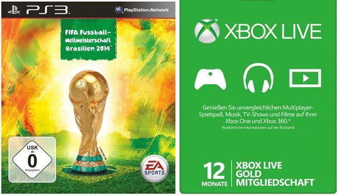 FIFA Fussball   Weltmeisterschaft Brasilien 2014 PS3 /XBox360 für je 39,97€ Tag 2 der E3 Daily Deals