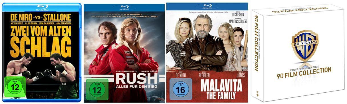 90 Jahre Warner Bros. Jubiläums Edition   90 Film Collection für 149,97€   und reichlich mehr Amazon Blitzangebote