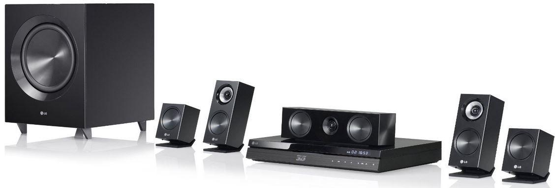 LG BH7220B   3D Blu ray 5.1 Heimkinosystem für 199€