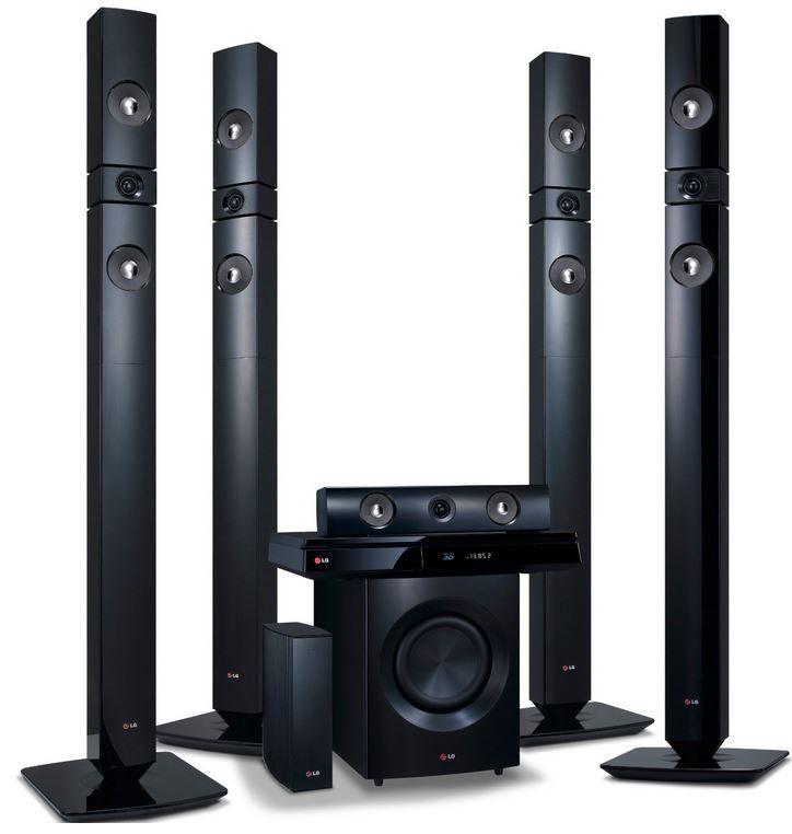 LG BH7530TWB   3D Blu Ray 5.1 Heimkinosystem mit Wireless Lautsprechern statt 484€ für 389€