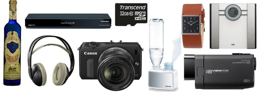 Canon EOS M kompakte 18MP Systemkamera und weitere 15 Amazon Blitzangebote ab 18Uhr
