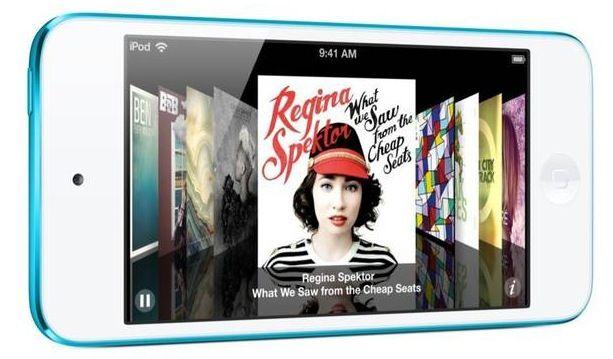 Apple iPod Touch 5G 32GB in Blau für 199,99€