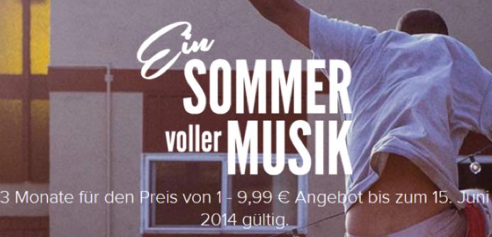 3 Monate Spotify Premium für 9,99€