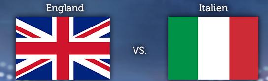 WM Tippgewinnspiel 3. Spieltag: England – Italien
