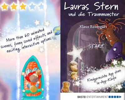 App Deal: Lauras Stern und die Traummonster erstmalig reduziert (iOS/Android)