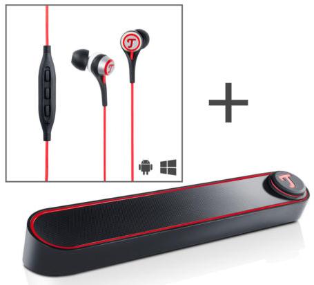 Teufel BT Bamster Bluetooth Lautsprecher & Teufel Move In Ear für 99,99€