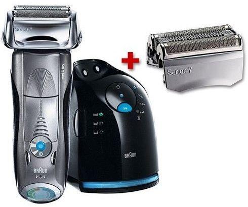 Braun Series 7 799cc 7 Rasierer (inkl. Reinigungsstation + gratis Scherkopf, Trocken  und Nassrasur) für 199€