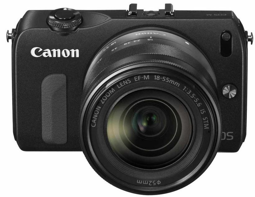 Canon EOS M   18MP kompakte Systemkamera mit 18 55 mm Objektiv und Blitz als Amazon Blitzangebot ab 08Uhr