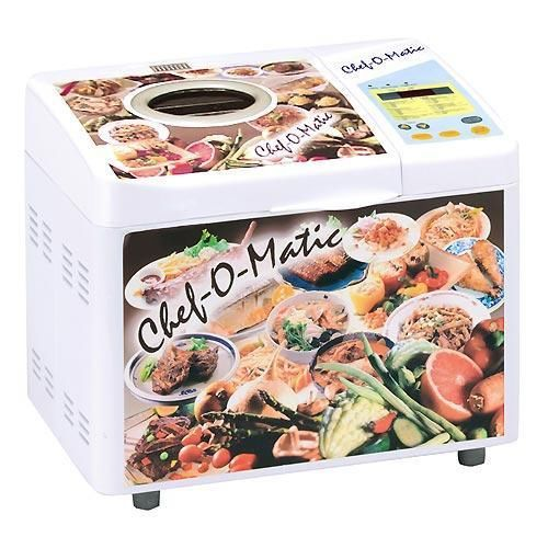 Industex Chef O Matic Multikocher (Reiskocher, Brotbackautomat) für 14,99€