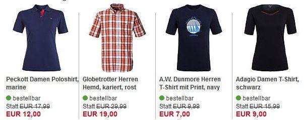 Aktueller Sale + 20% Extra Rabatt auf Oberbekleidung und Schuhe