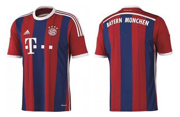 Adidas FC Bayern München Replica Home Trikot 2014/2015 ab 22,50€
