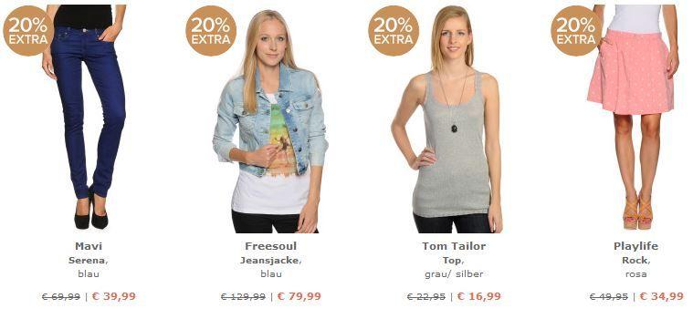 dress for less   20% Rabatt auf (fast) alles   nur bis Mitternacht
