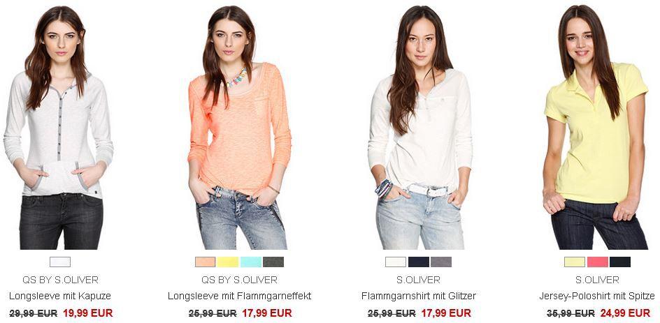 Fashion s.Oliver Sale   bis zu 70% auf viele reduzierte Artikel + versandkostenfreie Lieferung   Update!