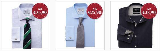 Fashion3 Charles Tyrwhitt Hemden Sale + 20€ Gutschein ohne MBW   Update!