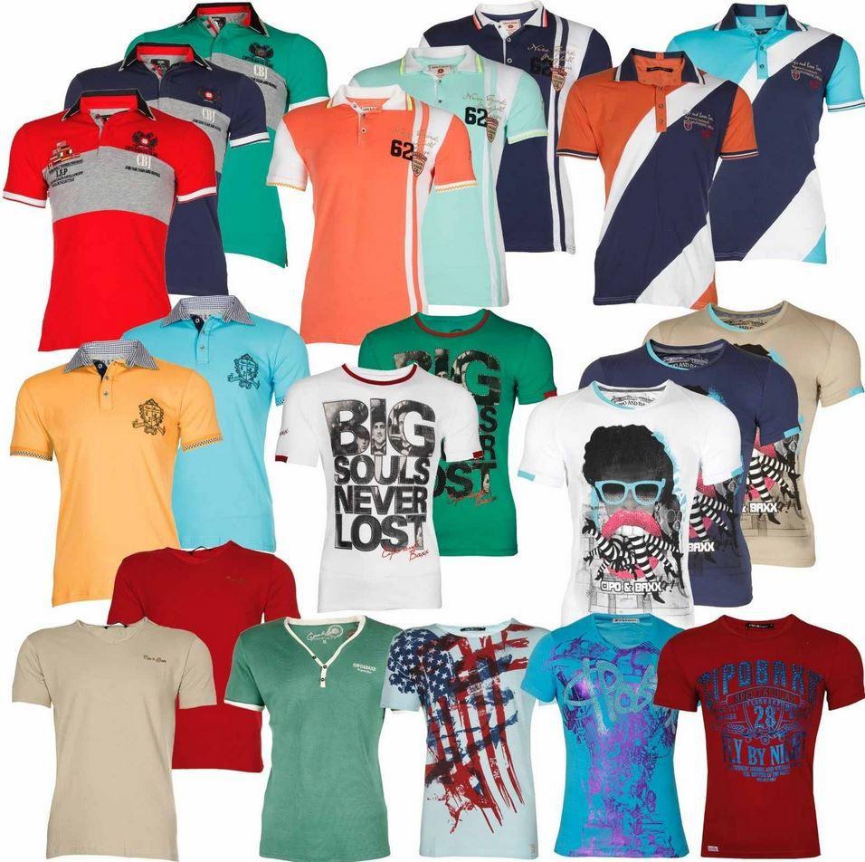 Fashion7 CIPO & BAXX Herren Polo. T   und Muscle Shirts für je 12,99€ inkl. Versand   wieder da!