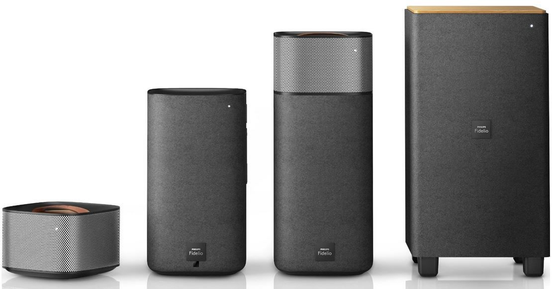 Philips Fidelio E5    kabelloses Bluetooth Surround Sound Lautsprecher Set statt 639€ für 498,36€