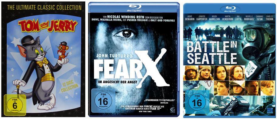 Blu rays je 5€ und mehr Amazon DVD und Blu ray Angebote