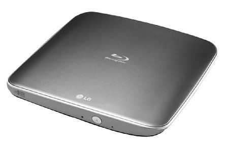 LG BP40NS20   externer Blu ray Brenner (8x DVD+R/W, 6x DVD±R, USB 2.0) in Grau für 77€